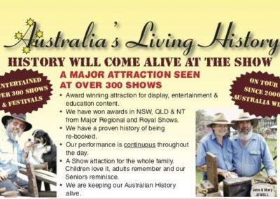 Australia's Living History